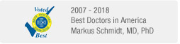 Markus Schmidt, MD, PhD - Best Doctors in America - 2007-2013
